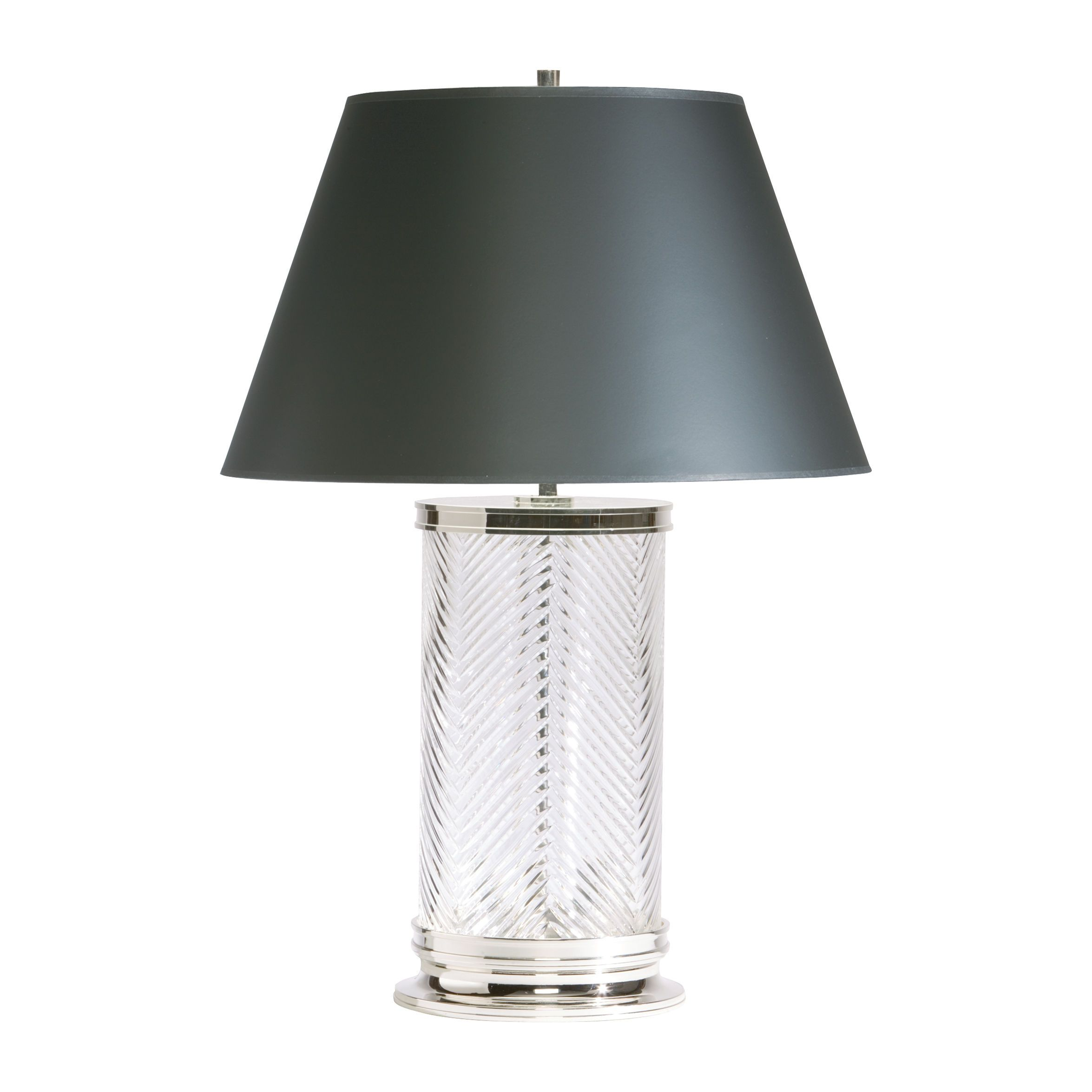 Our herringbone crystal table lamp makes a stunning statement in our herringbone crystal table lamp makes a stunning statement in any room geotapseo Images