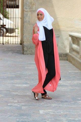 Collection de Capes et Cardigans - Vêtement fashion pour femme musulmane  (2) - Mayssa 7ede8d86d227