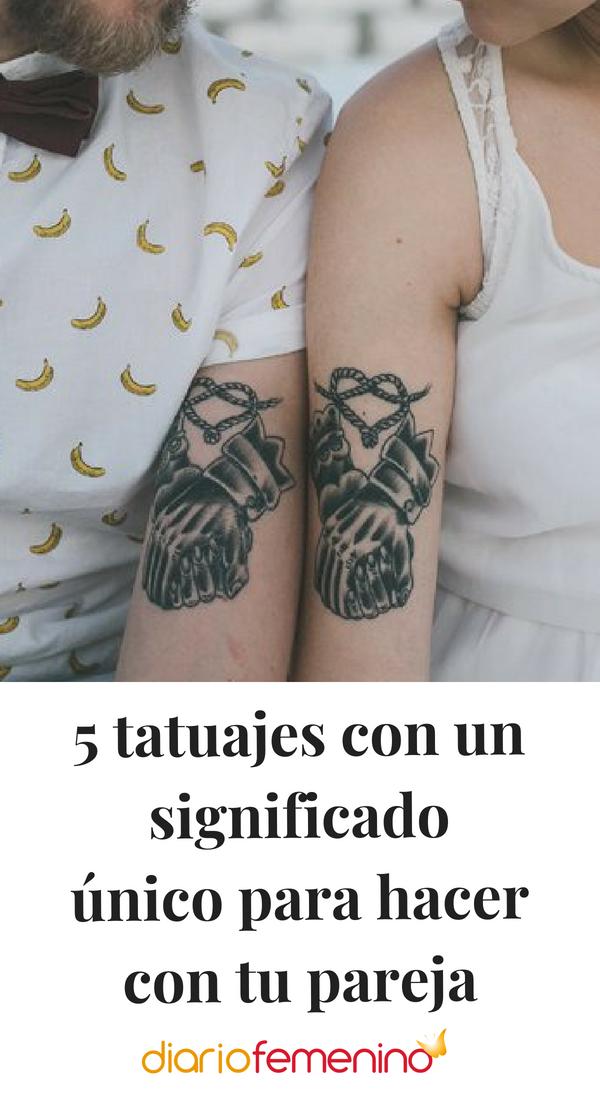 5 Tatuajes Con Un Significado Unico Para Hacer Con Tu Pareja