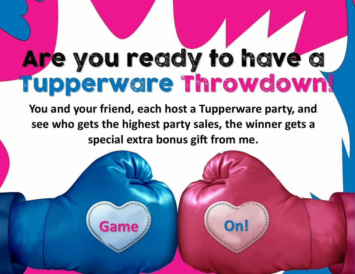 Tupperware party ideas for consultants