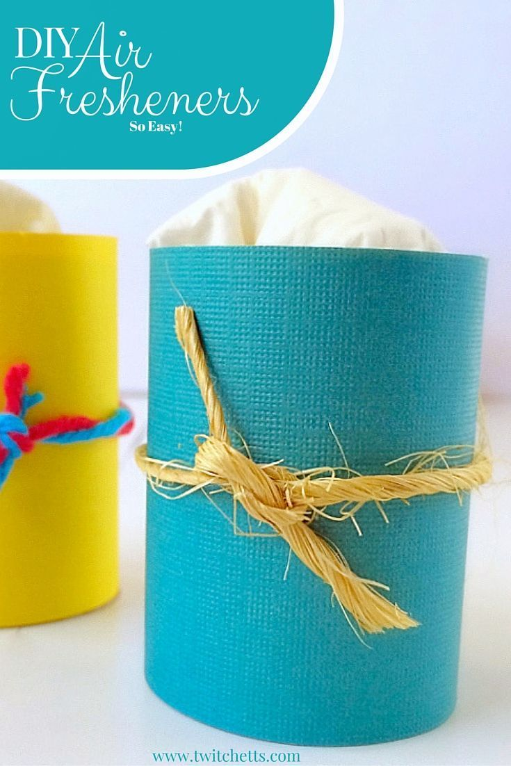 Diy air fresheners from toilet paper rolls homemade