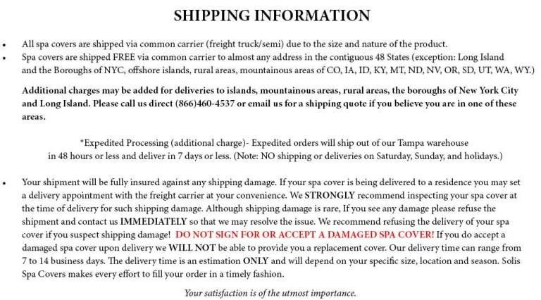 Shipping Policy Template 3 Templates Templates