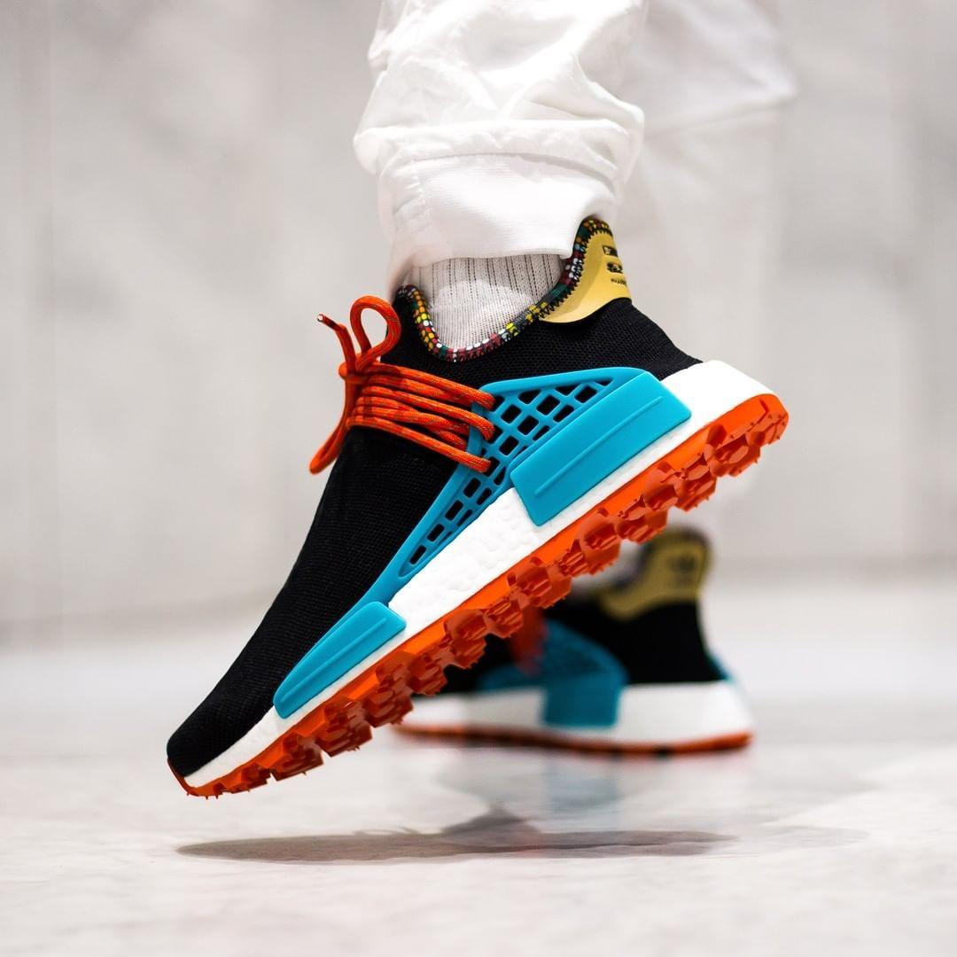 pharrell williams adidas orange