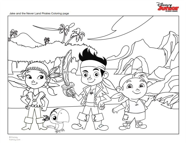 Pin Dibujos Para Colorear De Jake Y Los Piratas Cake On Pinterest Pirate Coloring Pages Pirates Colouring Pages