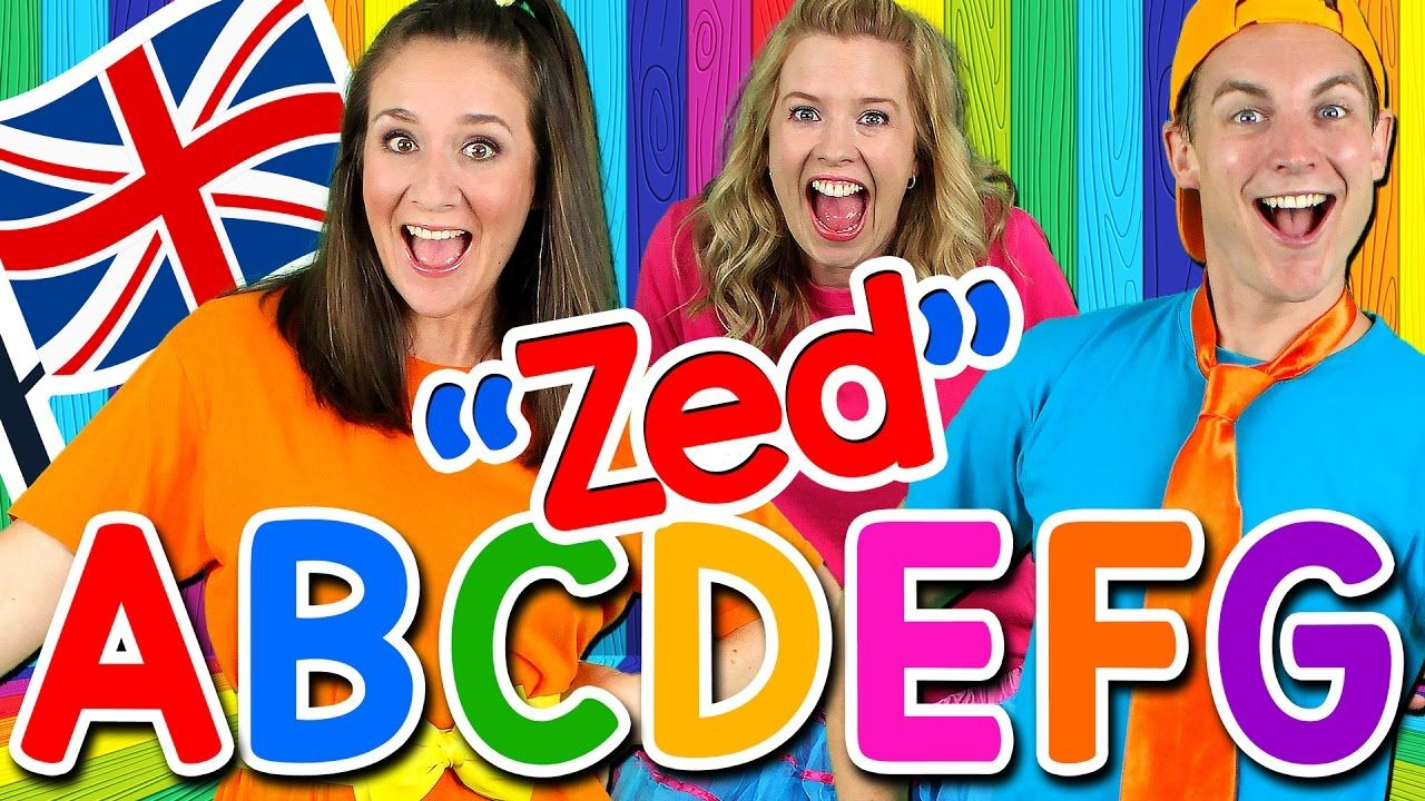 Alphabet Song ABC Song UK ZED Version! Learn the