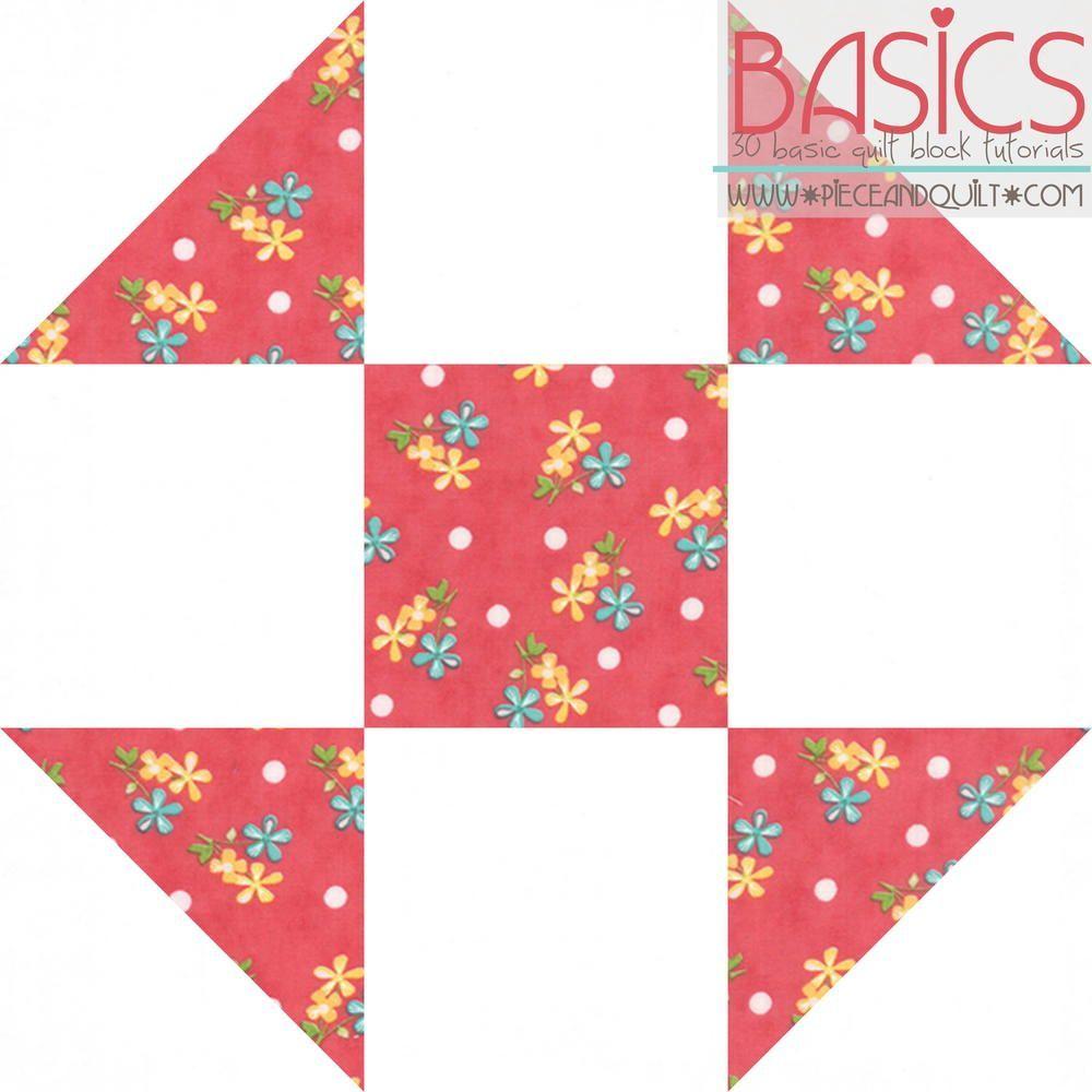 Shoofly Quilt Block Tutorial Basic Quilt Quilt Block Tutorial Quilt Blocks