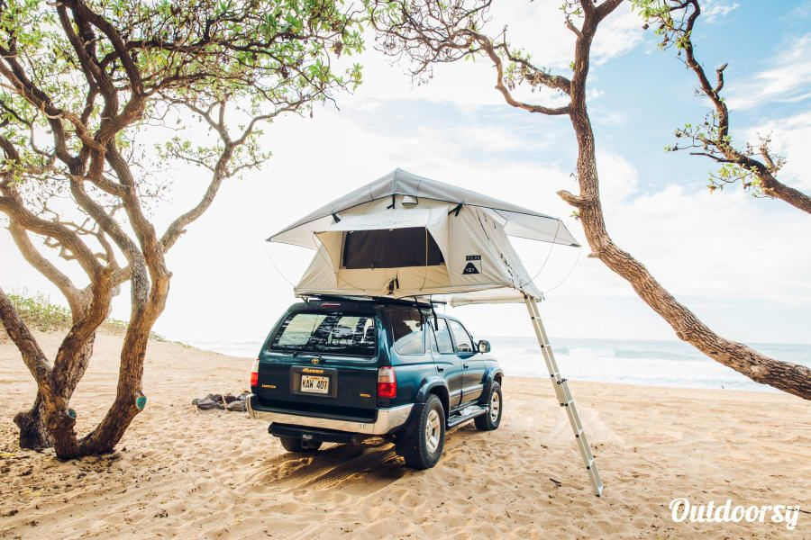 Check Out This Toyota 4runner Roof Top Camper 4wd On