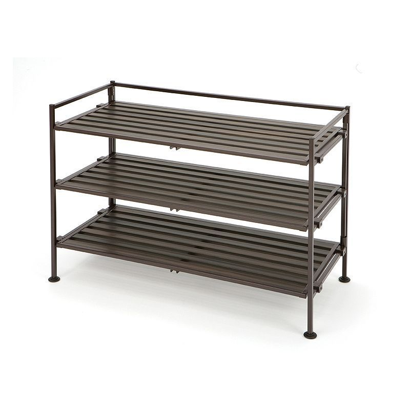Www Mosslounge Com Elegant Simple Diy Shoe Rack Metal Design