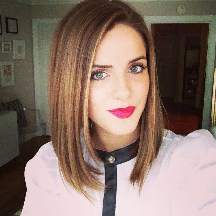 Medium Length Hairstyles for Straight Hair   hair ✕   Pinterest ...