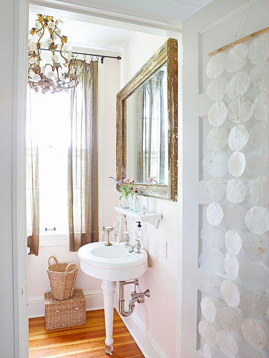 Bathroom Decorating Ideas Vintage bathrooms with vintage style | retro decorating, pedestal sink and