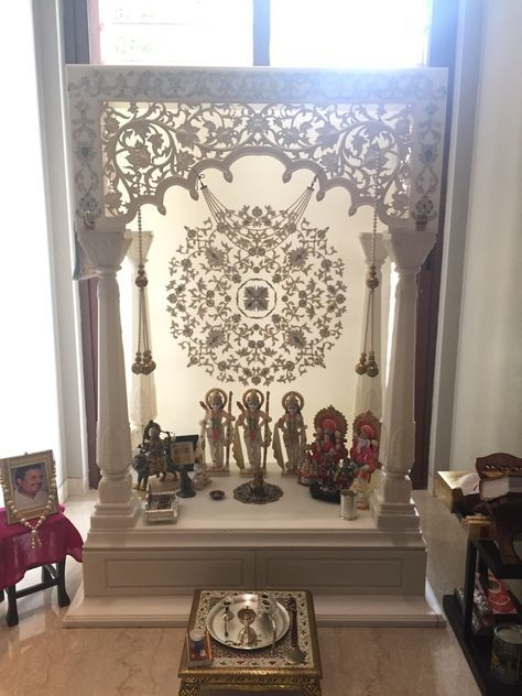 Acrylic Solid Surface Mandir Korean Pinterest Solid Surface Puja Room And Room