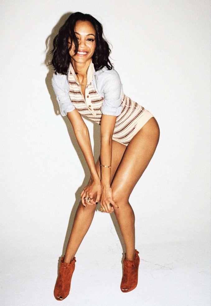 Zoe Saldana's Legs   Zeman Celeb Legs   zoe saldana ... Zoe Saldana