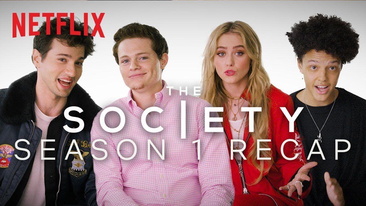 The Society Cast Recaps Season 1 Lots Of Spoilers Netflix