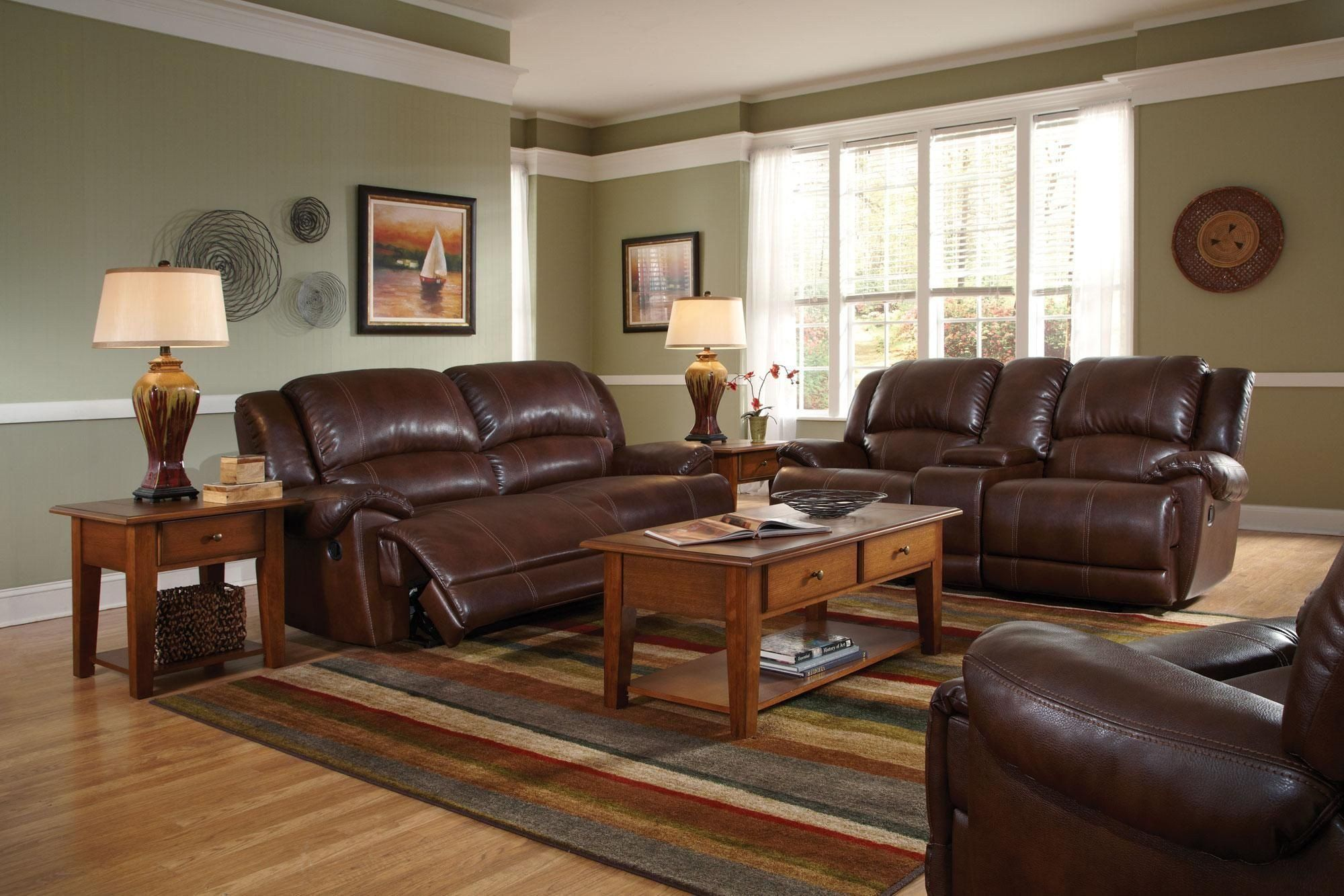 20 Paint Colors for Living Room with Brown Leather ...