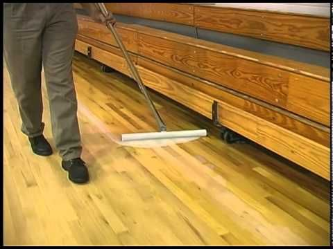 Finishing Gym and Wood Floors with KaiMotion