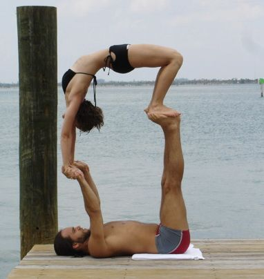 equilibrium  acro yoga poses partner yoga couples yoga