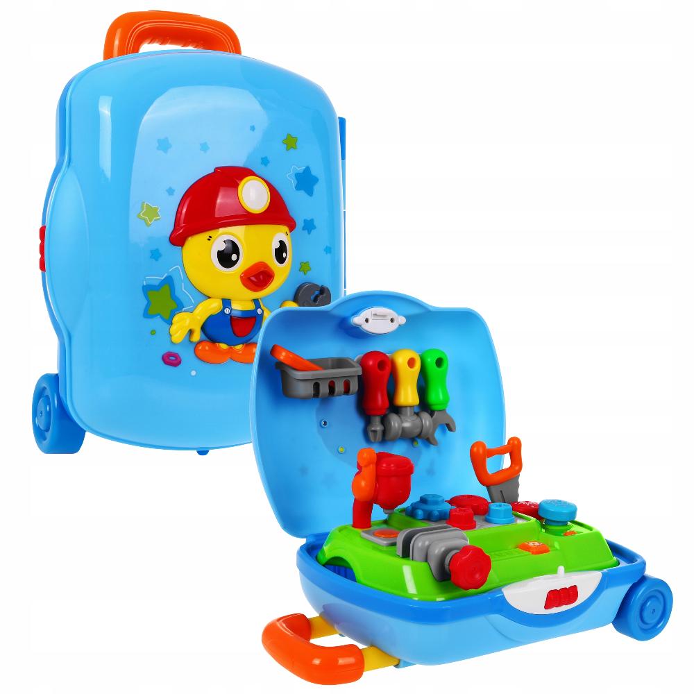 Interaktywna Przenosna Walizka Warsztat Narzedzia 7948572243 Oficjalne Archiwum Allegro Suitcase Luggage