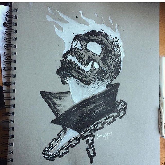 It's just an image of Genius Cartoon Ghost Tattoo Drawing