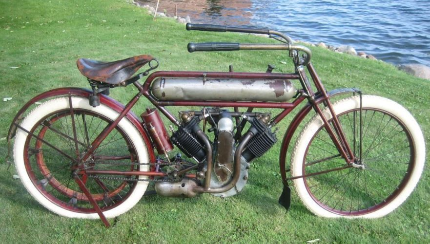 Early American 1911 Yale Single Antique Motorcycles Motorcycle Motorcycle Clubs