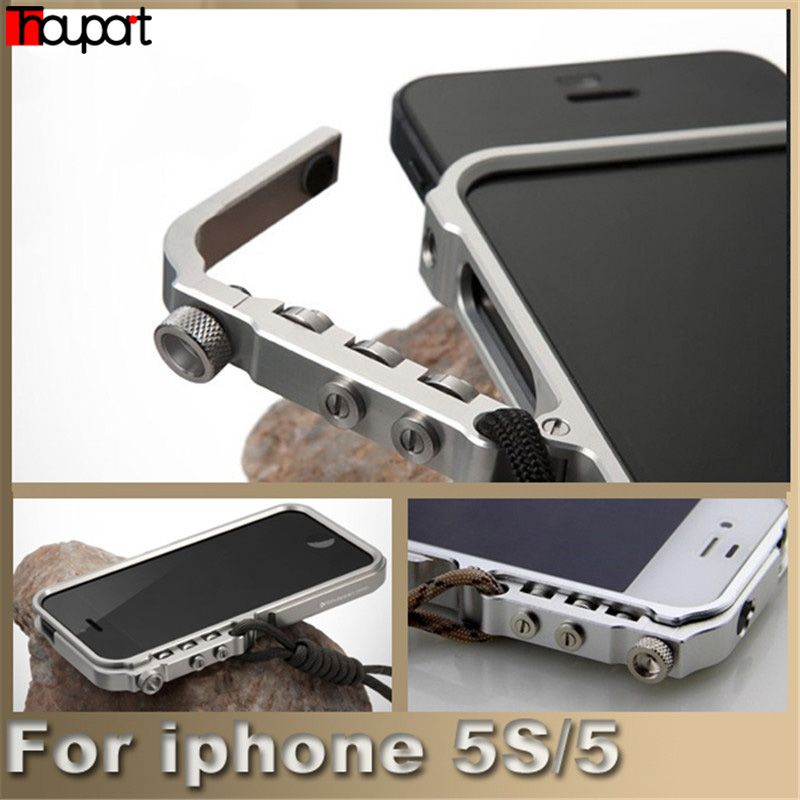 Für iphone 5 s case mann super arm aluminiummetallstoß für apple iphone 5 case iphone se abdeckrahmen für iphone5s telefon fällen