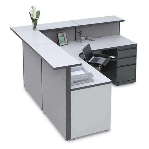 Found It At Wayfair Supply Large L Shape Reception Desk With