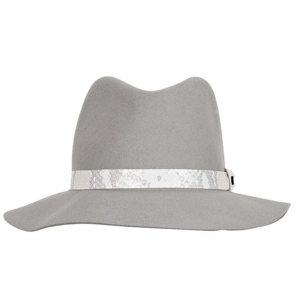 RAG   BONE Floppy Brim Fedora ( 210) ❤ liked on Polyvore featuring  accessories 662c69fd7b5