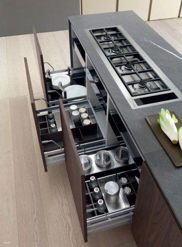 Modulnova Moon Gola Kitchen Design  Modern Italian Design Brilliant Italian Design Kitchen Inspiration