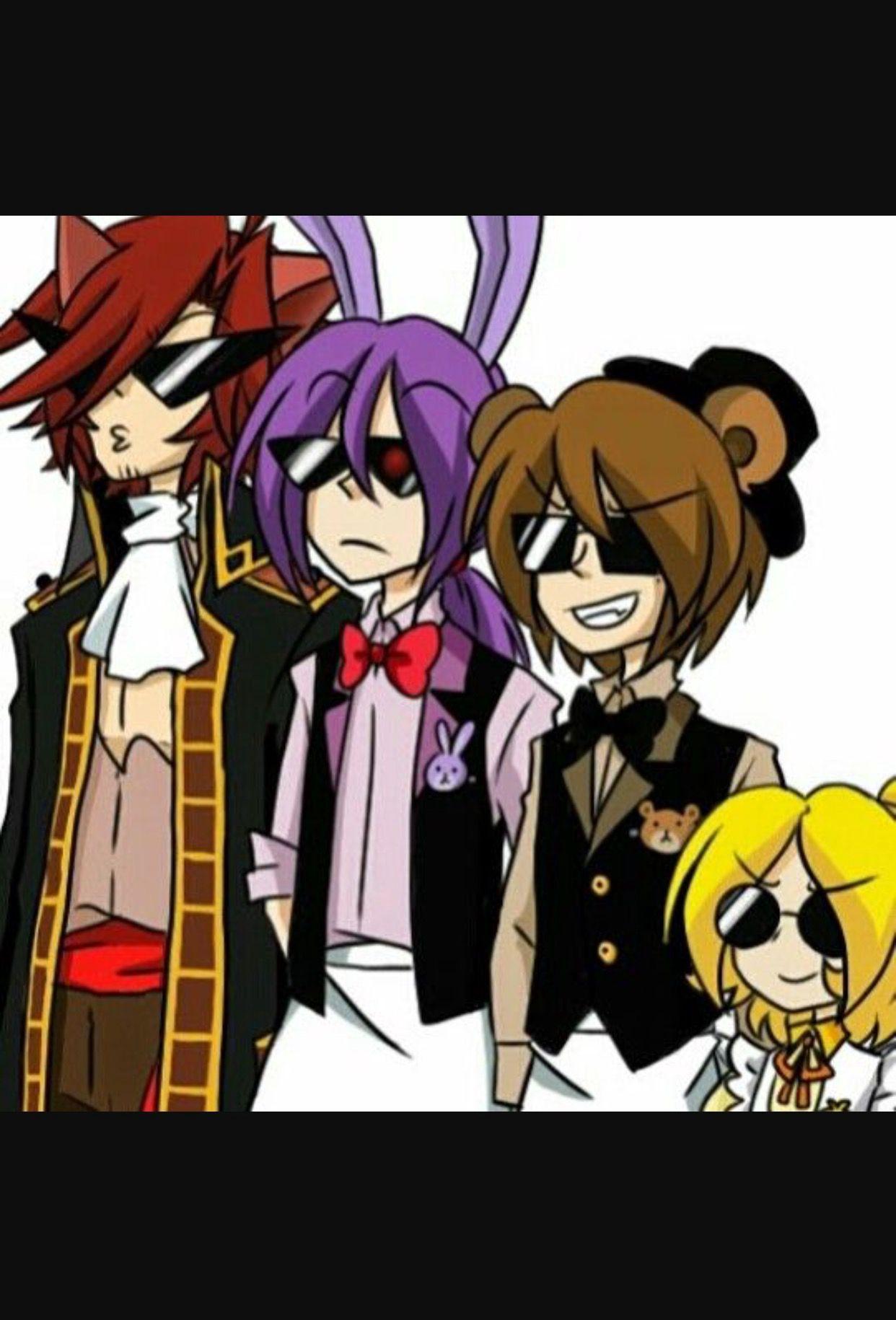 Human Fnaf X Reader Oneshots Anime Fnaf Fnaf Fnaf Characters