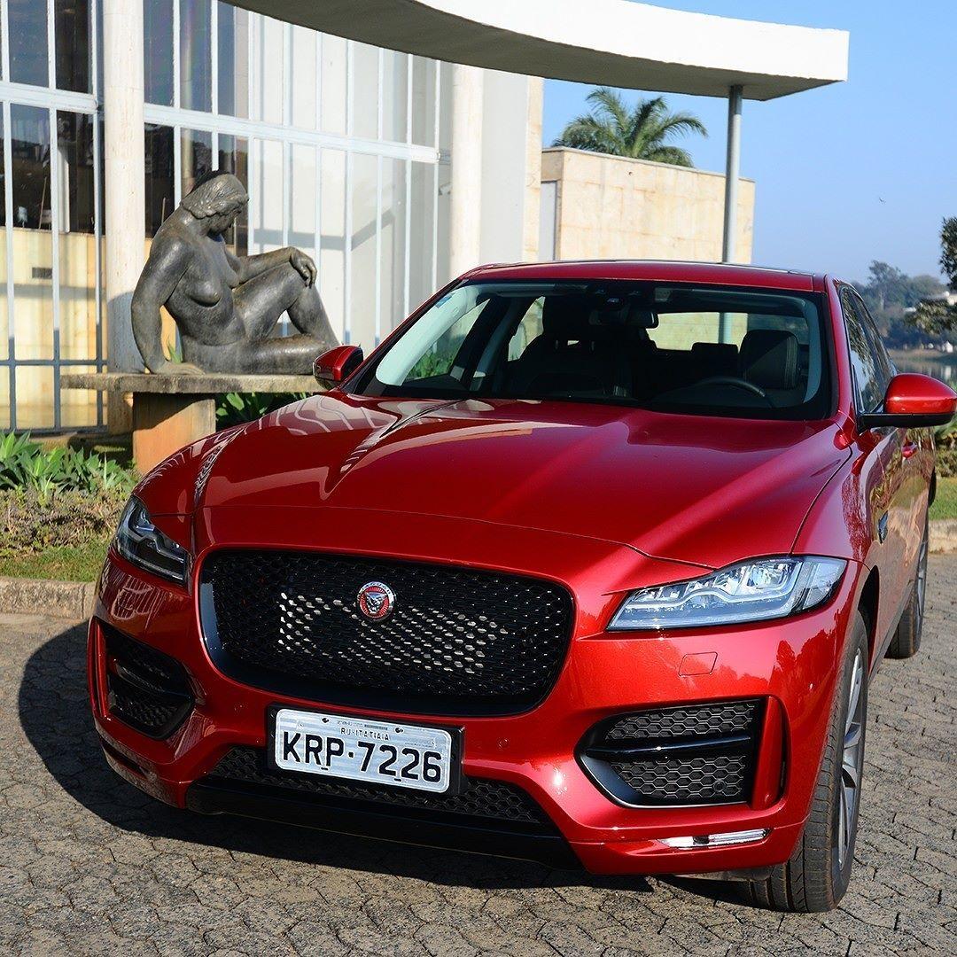 Jaguar F-Pace R-Sport 2017 Primeiro SUV da marca inglesa ...