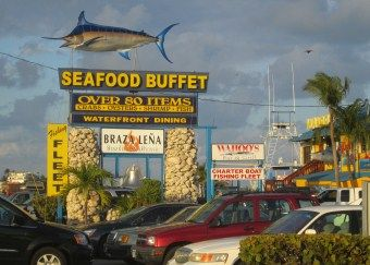 Seafood buffet restaurant in Islamorada, Florida Keys. My ...