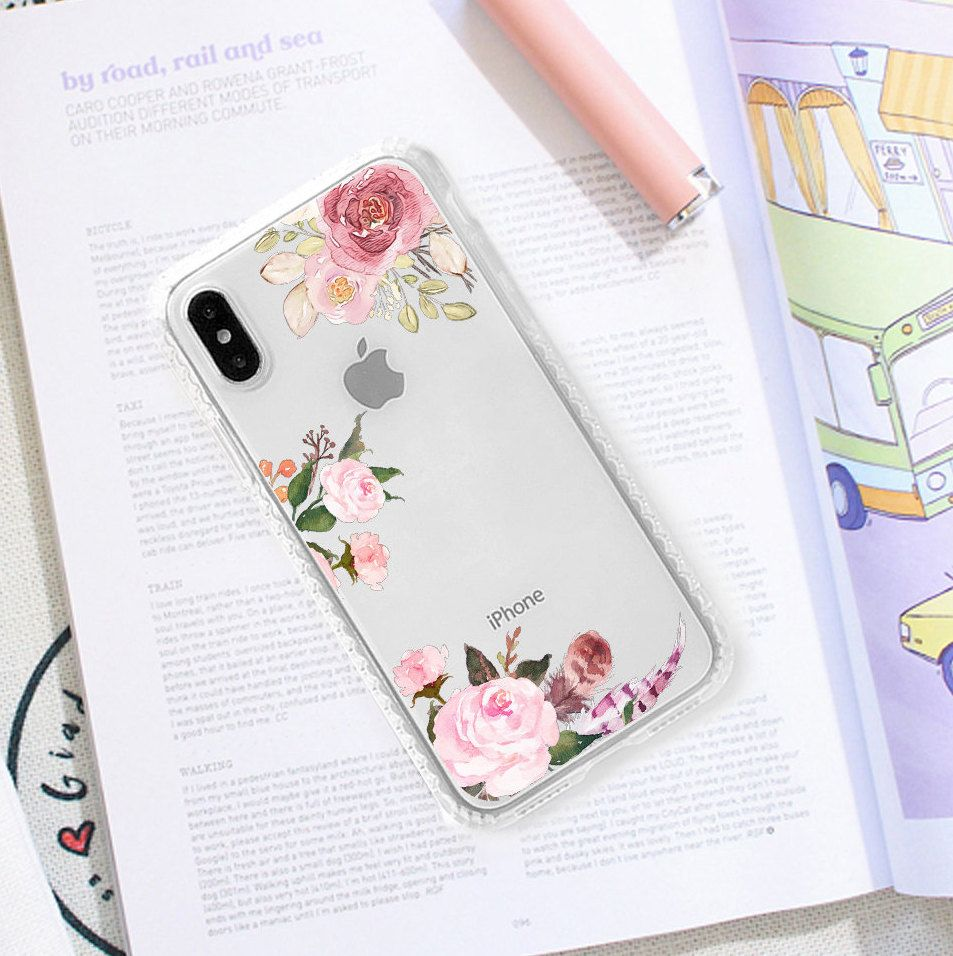 New beauty flower iPhone X Case iPhone XR Case 8 Plus Case