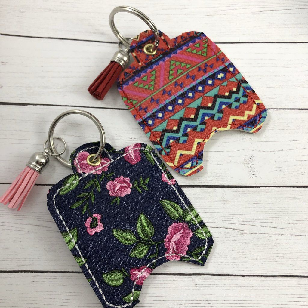 4x4 Blank Hand Sanitizer Holder Eyelet Version In The Hoop