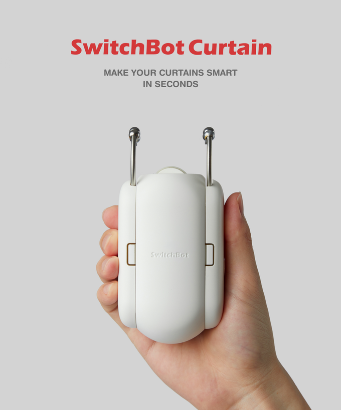 Switchbot Curtain Make Your Curtains Smart In Seconds By Wonder