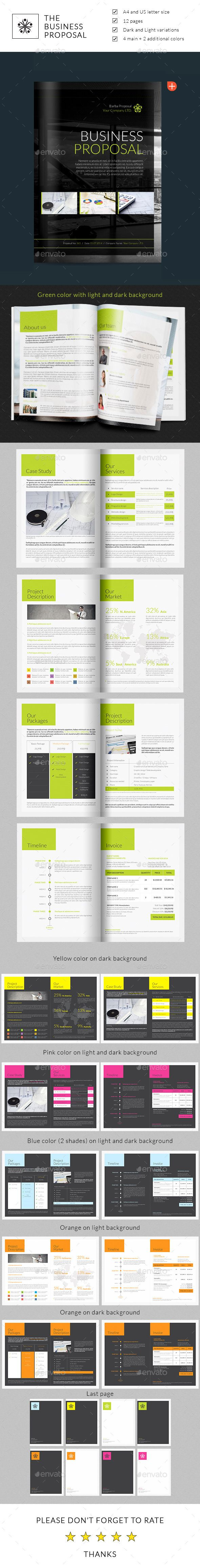 Business Proposal by Velash Compatible Files for InDesign (.indd ...