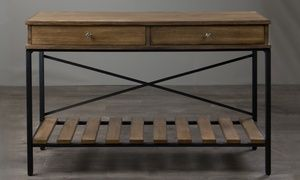 Groupon - Uriah Vintage Industrial Console Table. Groupon deal price: C$299.99