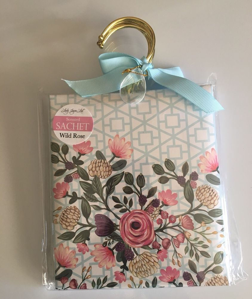 4 Pk Wild Rose Scented Sachet Scents Home Fragrance Drawer Wardrobe Decor Ebay Aromeco Air Freshener Rose Scented Products Scented Sachets Home Fragrance