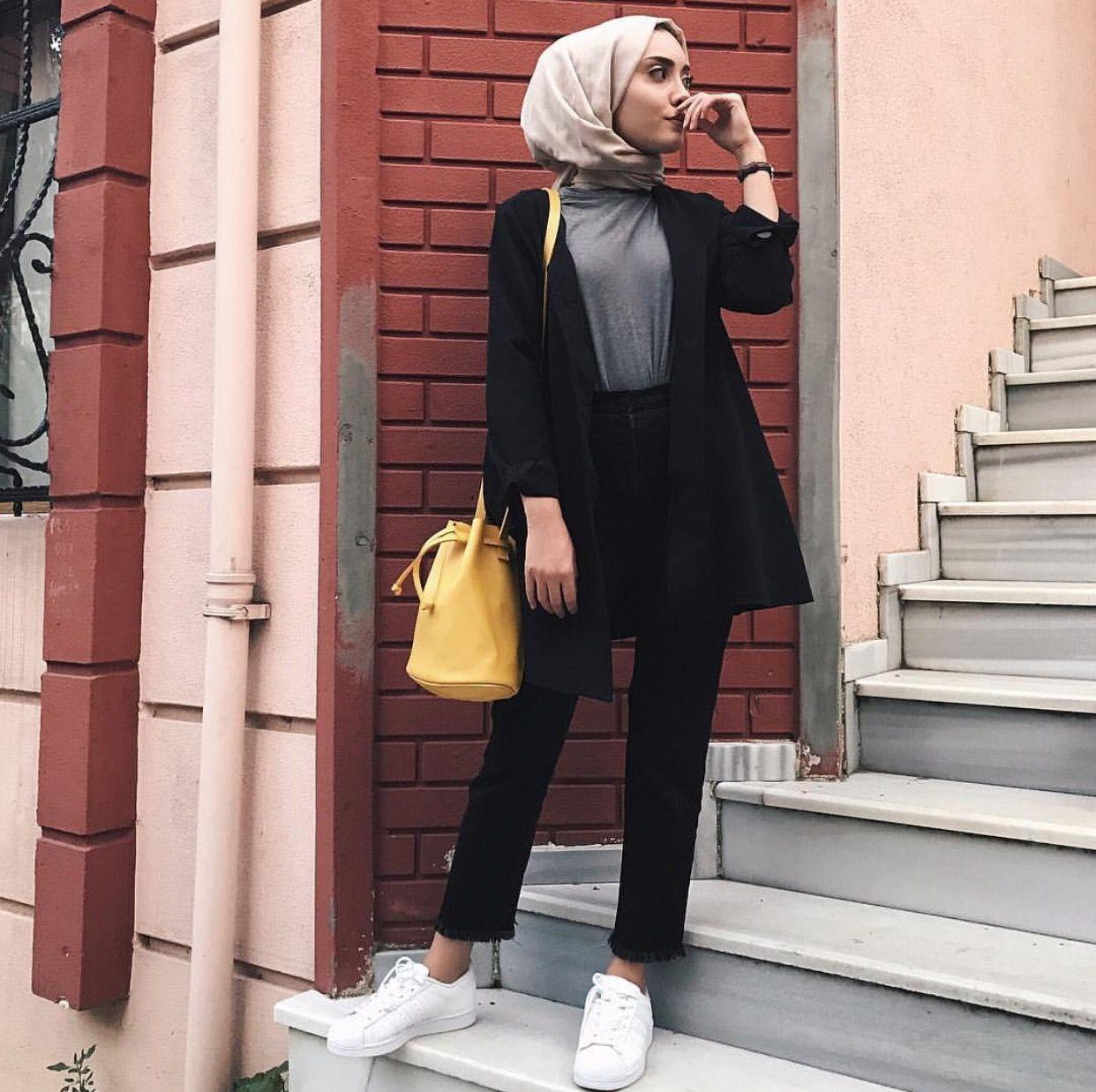 Pinterest @adarkurdish   Hijab fashion, Hijab style casual ...