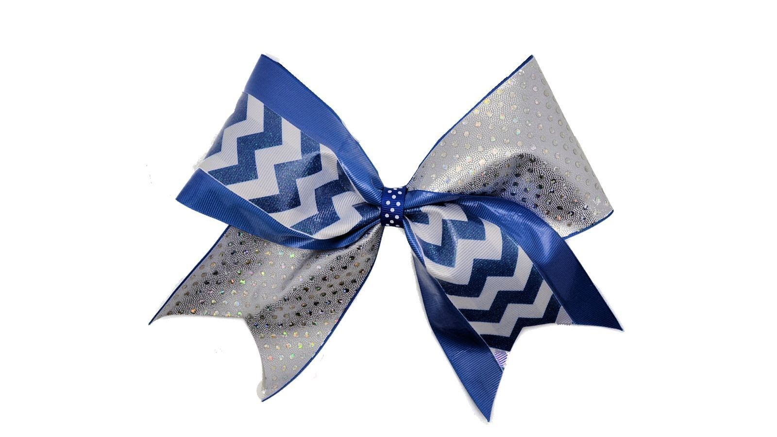 How To Make A Tick Tock Cheer Bow: I figured this out myself, but I love her tips on adding the vinyl and such!