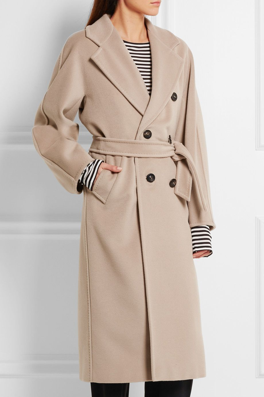 Max Mara | Madame 10180 wool and cashmere-blend coat | NET-A ...