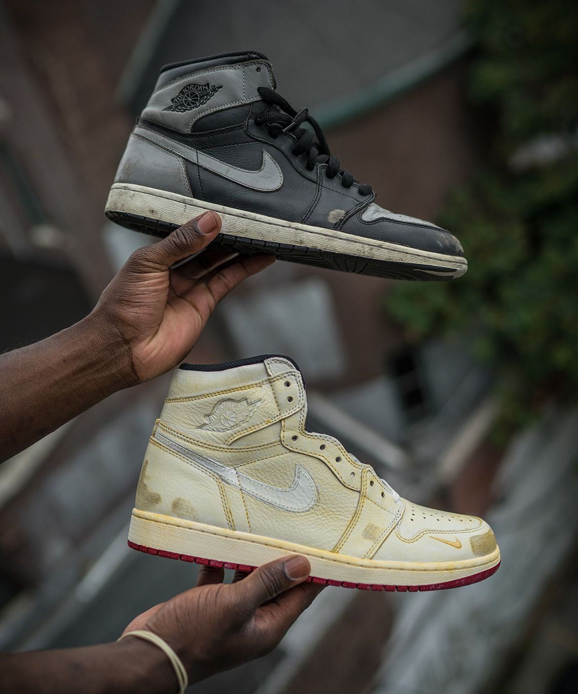 af5322c7a33317 Nigel Sylvester Reveals The Destroyed Air Jordan 1s That Inspired His  Collaboration  thatdope  sneakers  luxury  dope  fashion  trending