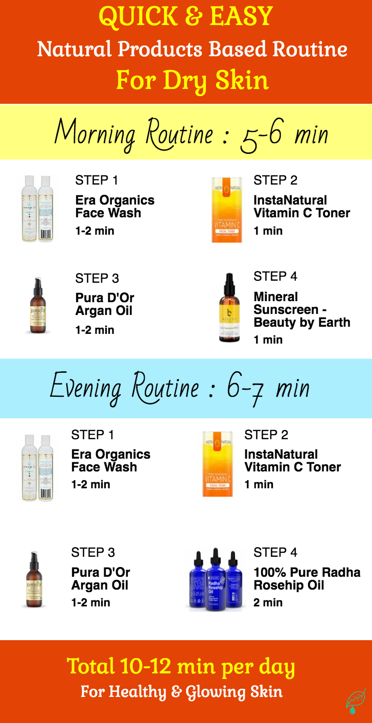 All Natural Skincare Routines Perfect For Sensitive Skin All Natural Skin Care Natural Skin Care Routine Combination Skin