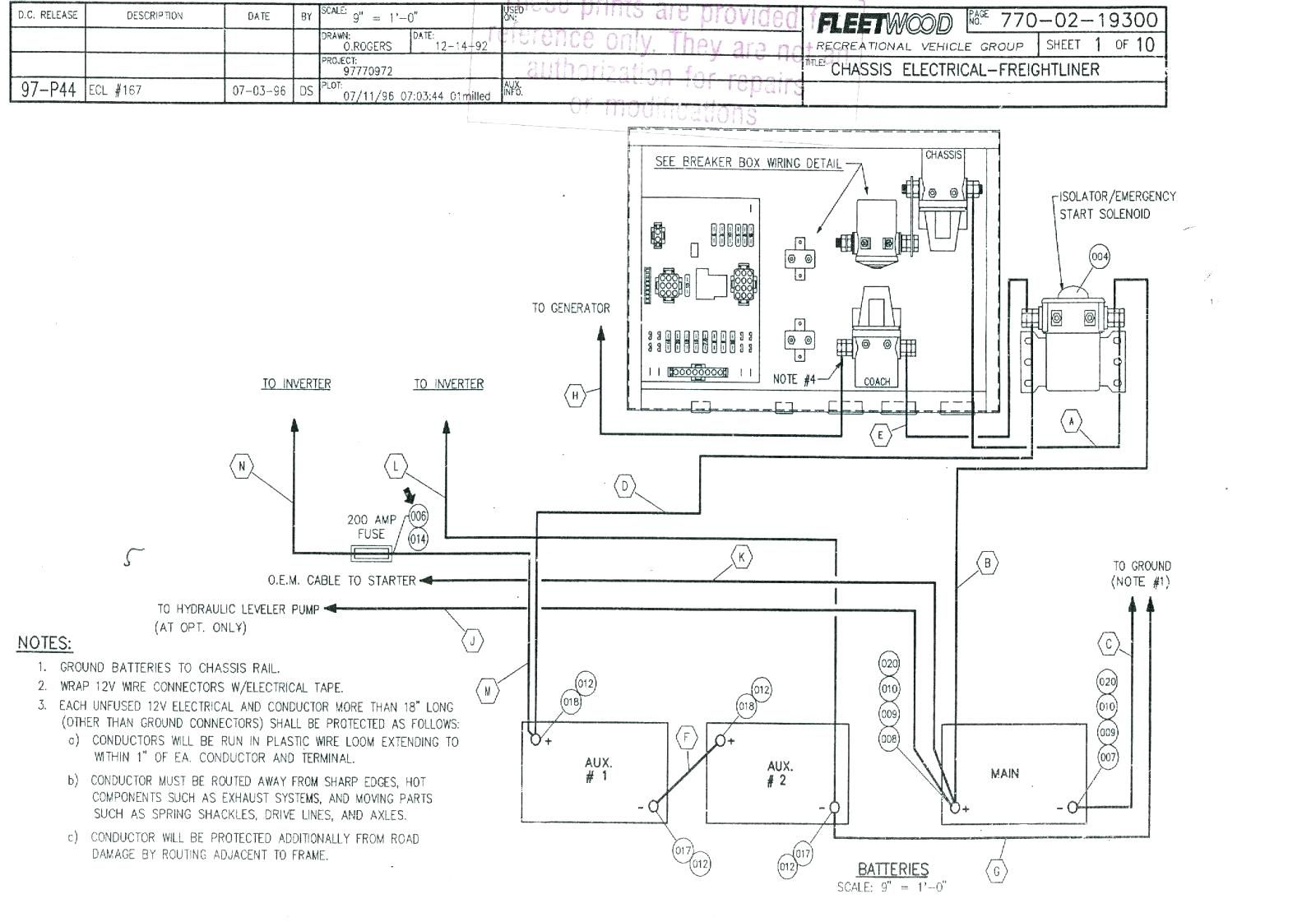 winnebago wiring diagrams for batteries