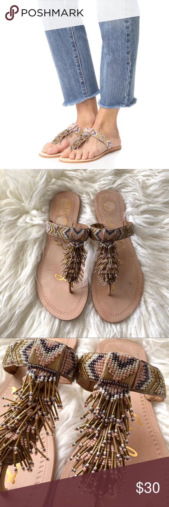 623b7770c812 Sam Edelman Anella Leather Beaded Flat Sandal Sam Edelman Anella Leather  Beaded Flat Sandal  Thong