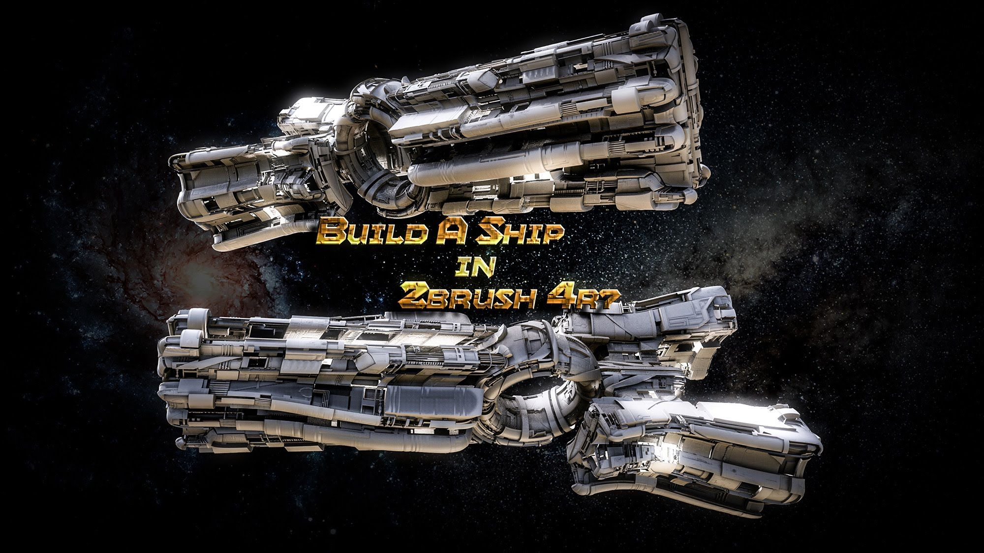 Build a Sci-Fi Spaceship in no Time in Zbrush 4R7  With Just
