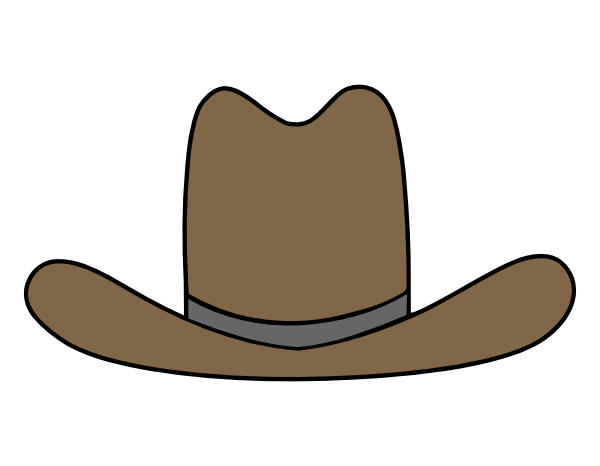 cowboy boot pattern printable cowboy hat clipart cowboy hat