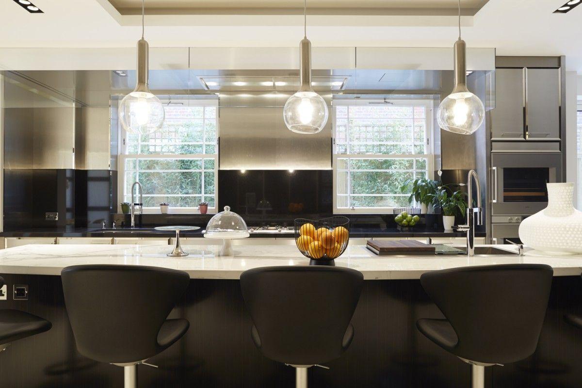 Una vivienda de lujo con acento British - Decorabien.com #cocina ...