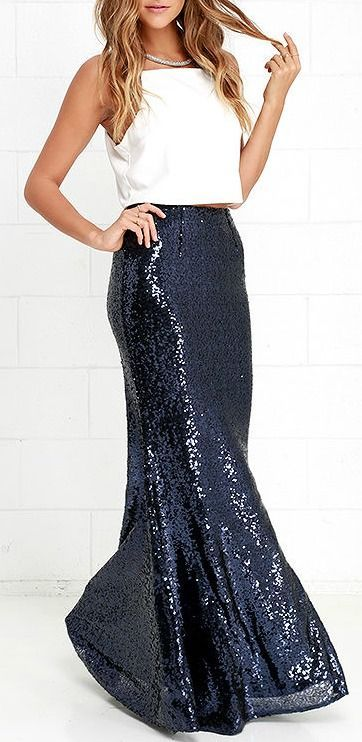 9ff1cc49e What Shoes To Wear With Sequin Maxi Skirt - Latest and Best Model ...