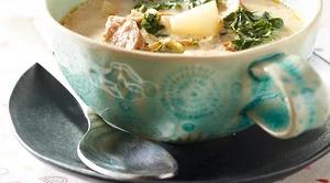 Tomato Florentine Soup #zuppatoscanasoup mr-Zuppa Toscana Soup Image #zuppatoscanasoup