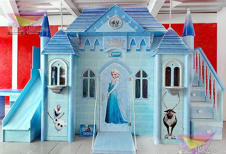 M s de 25 ideas incre bles sobre cuartos de princesas en for Cuartos para ninas frozen
