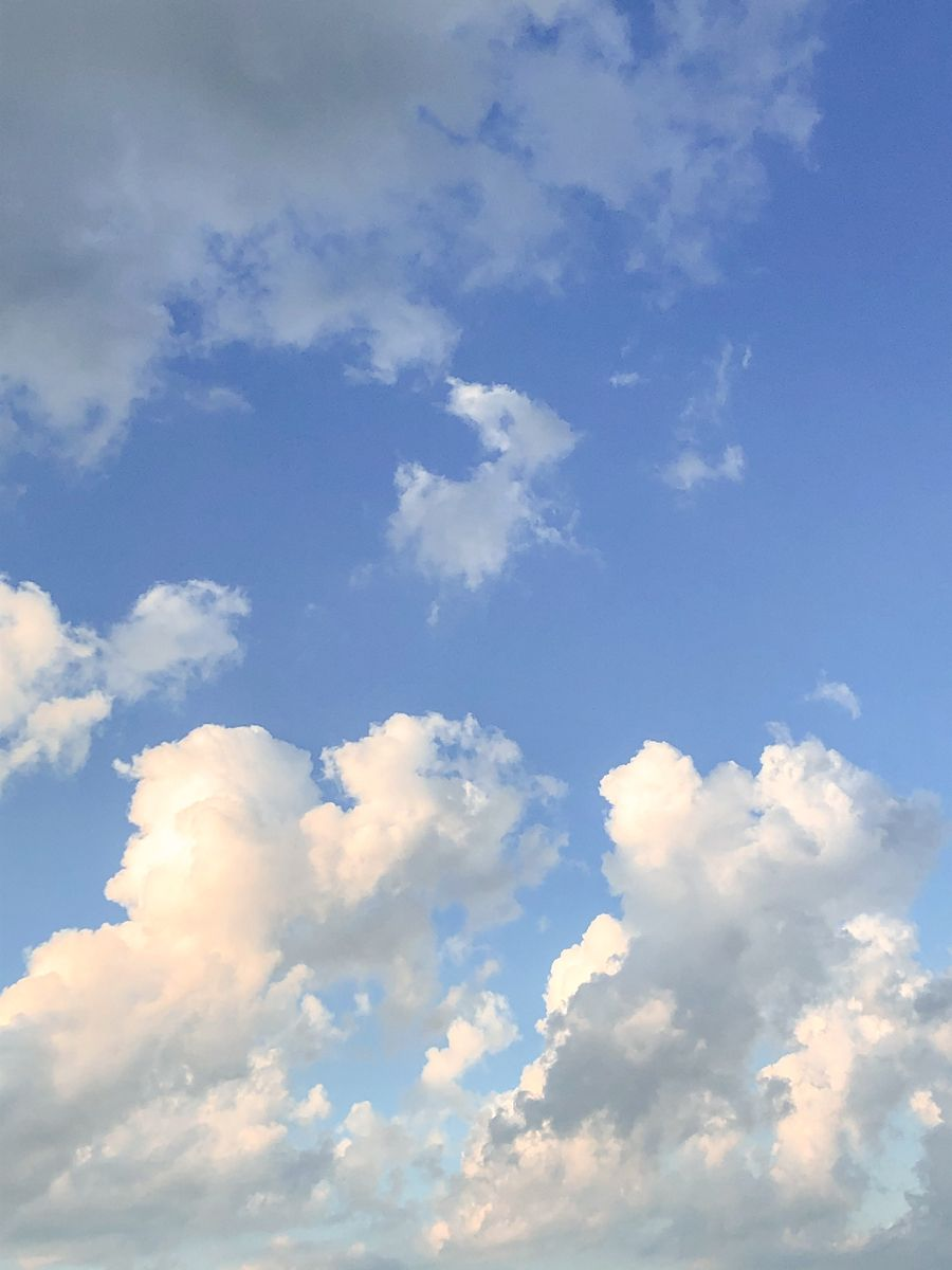 Clouds Baby Blue Aesthetic Blue Aesthetic Pastel Sky Aesthetic